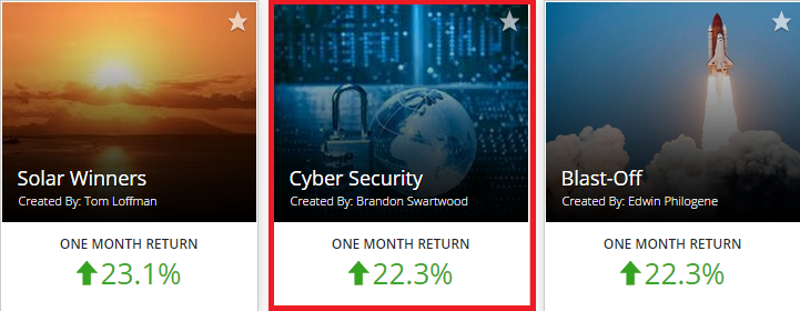 Buy Fractional Shares - Cyber Security Motif